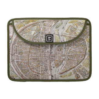 PARIS MAP, 1581 SLEEVES FOR MacBook PRO