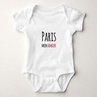 Paris, Mon amour Baby Bodysuit