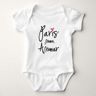 Paris mon amour baby bodysuit