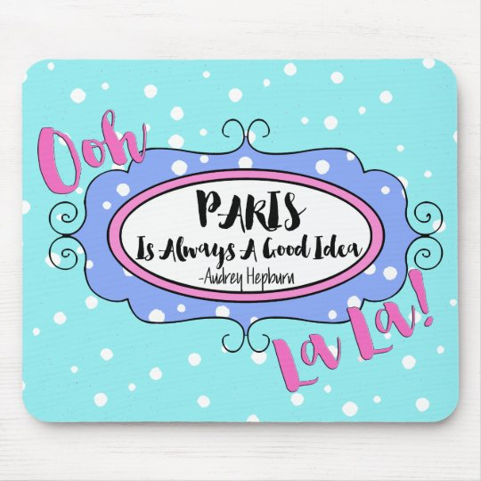 """Paris"" Mouse Pad"