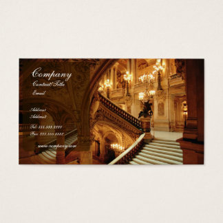 paris museum business card