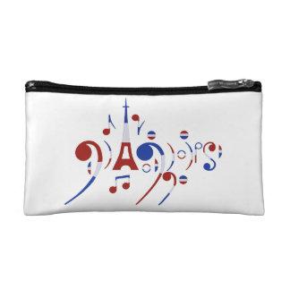 Paris Musical Notes Cosmetic Bag