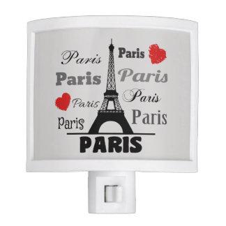 Paris Night Light