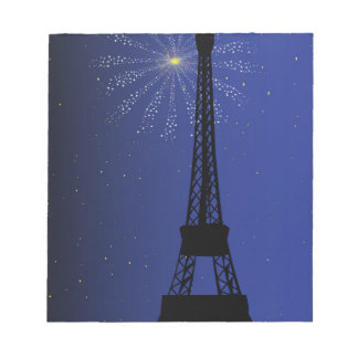 Paris Night Notepad