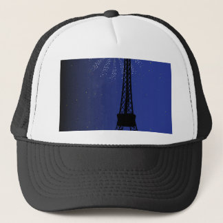 Paris Night Trucker Hat