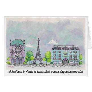 Paris Notecard