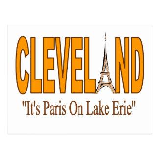 Paris on Lake Erie Postcard