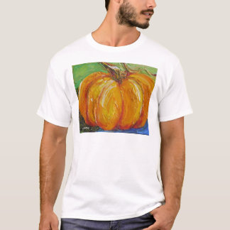 Paris' Orange Pumpkin T-Shirt