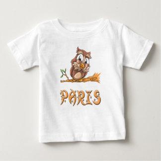 Paris Owl Baby T-Shirt