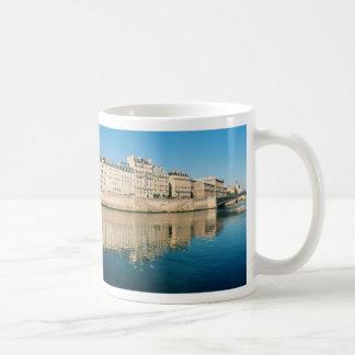 Paris Panorama - Ile Saint Louis Coffee Mug