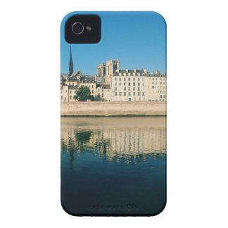 Paris Panorama - Ile Saint Louis iPhone 4 Cases