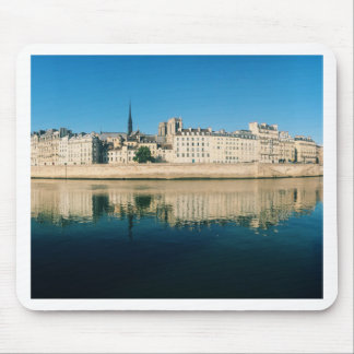 Paris Panorama - Ile Saint Louis Mouse Pad
