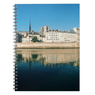 Paris Panorama - Ile Saint Louis Spiral Note Book