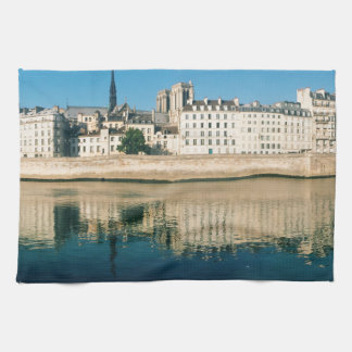 Paris Panorama - Ile Saint Louis Towels
