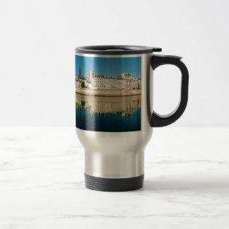 Paris Panorama - Ile Saint Louis Travel Mug