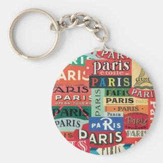 Paris Paris Keychain