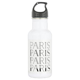 Paris Paris Paris | Elegant French Inspired 532 Ml Water Bottle