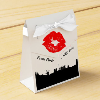 Paris Party Favor gift box