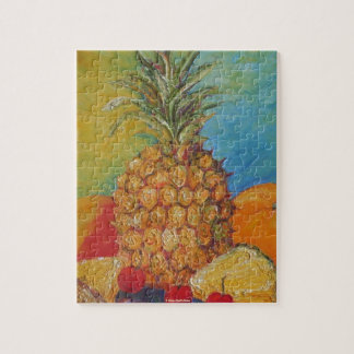 Paris' Pineapple Jigsaw Puzzle