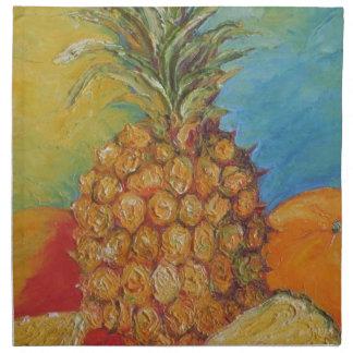 Paris' Pineapple Napkin