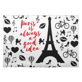 Paris Placemat