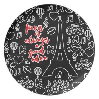 Paris Plate