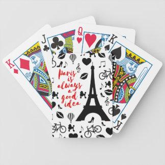 Paris Poker Deck