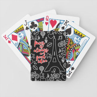 Paris Poker Deck