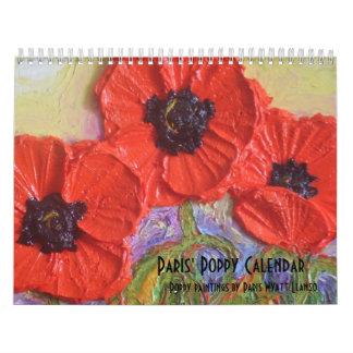 Paris' Poppy Calendar