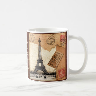 Paris Postmark Coffee Mug