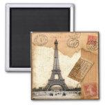 Paris, Postmark Magnet