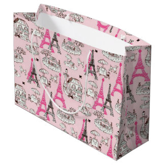 Paris Promenade Large Gift Bag