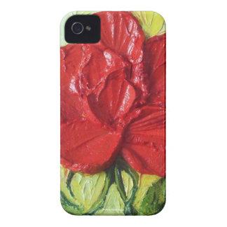 Paris' Red Rose Bergamont Blackberry Case