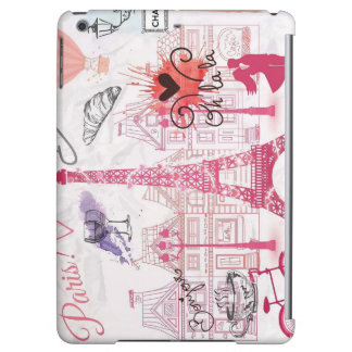 Paris, romance, Eiffel Tower..... iPad Air Cases
