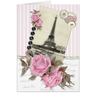 Paris Roses Card