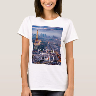 Paris Short Sleeved T-shirt