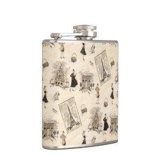 Paris Sights 1 Hip Flask