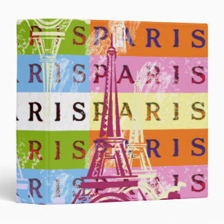 Paris Signs and Eiffel Tower Binders