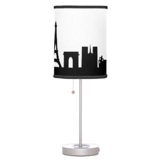 paris  skyline deco table lamp