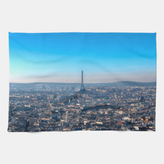 Paris Skyline Kitchen Towel