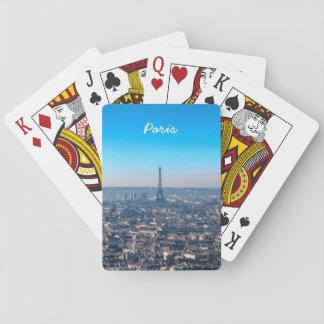Paris Skyline Poker Deck