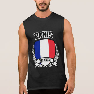 Paris Sleeveless Shirt