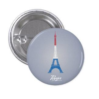Paris Small, 1¼ Inch Round Button
