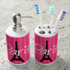 Paris Soap Dispenser And Toothbrush Holder