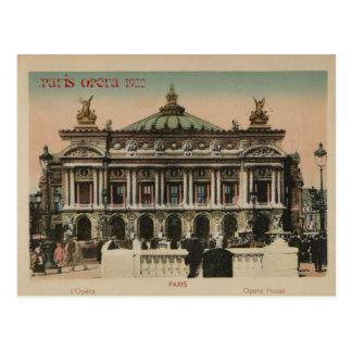 Paris Souvenier L Paris Opera House Postcard