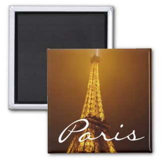 Paris square magnet