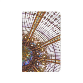 Paris Stained Glass Dome Photo Pocket Journal
