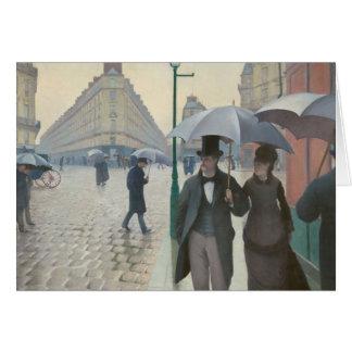 Paris Street; Rainy Day AKA Paris: A Rainy Day Card