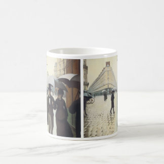 Paris Street Rainy Day by Caillebotte Coffee Mugs