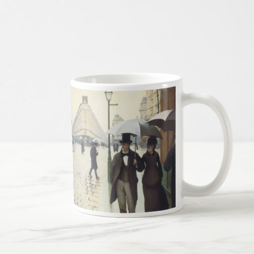 Paris Street, Rainy Day by Caillebotte Coffee Mugs